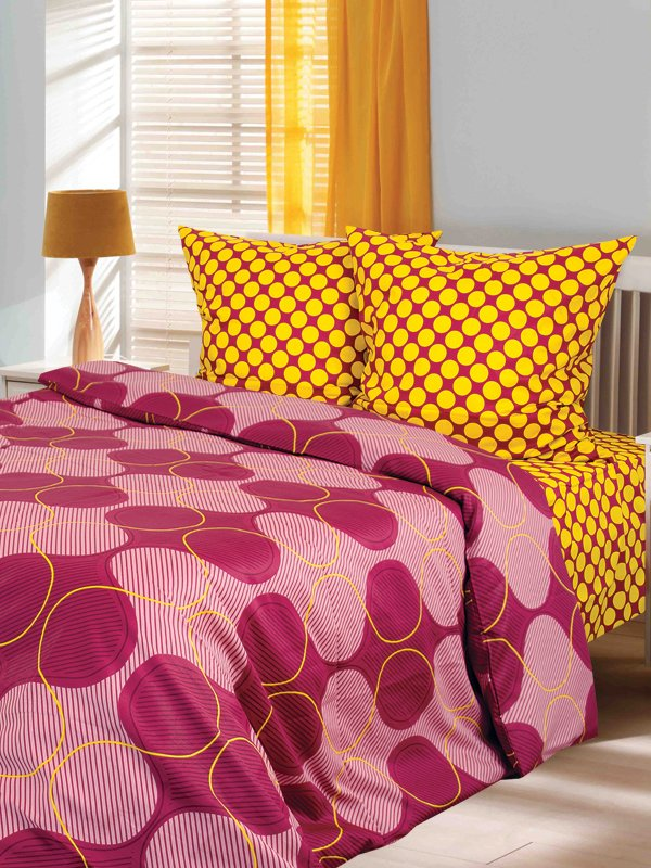 Комплект постельного белья семейный | 3308152