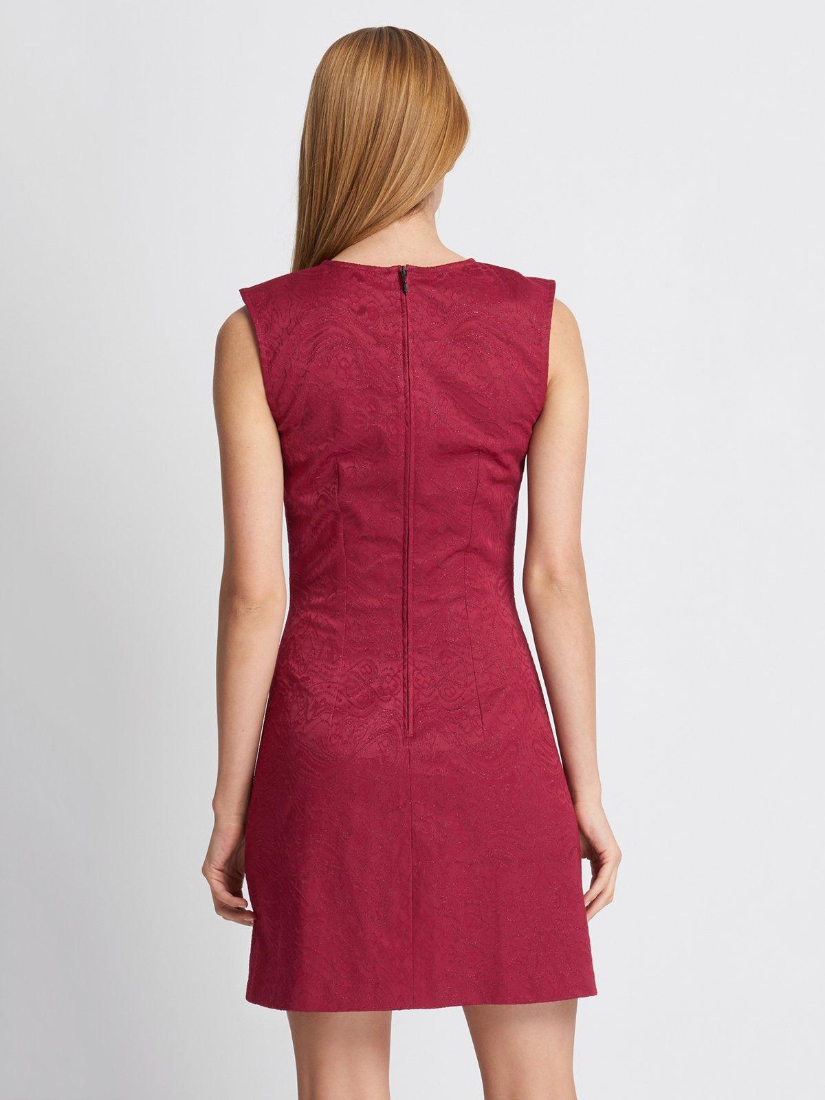 Платье бордовое | 2888429 | фото 7