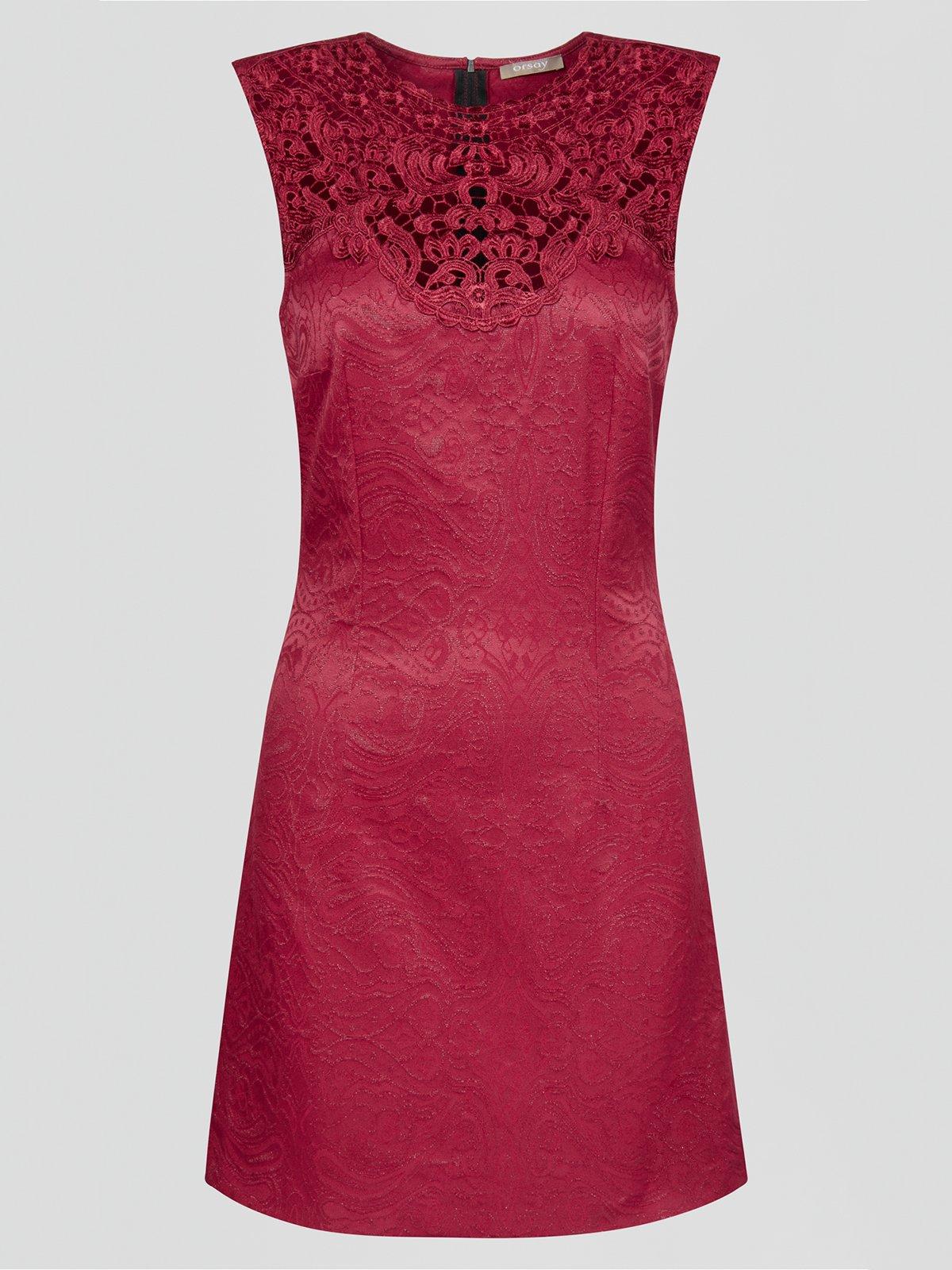 Платье бордовое | 2888429 | фото 8