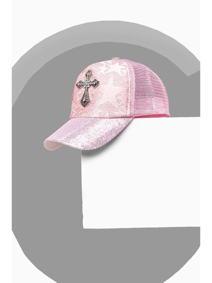 Бейсболка розовая   3311537
