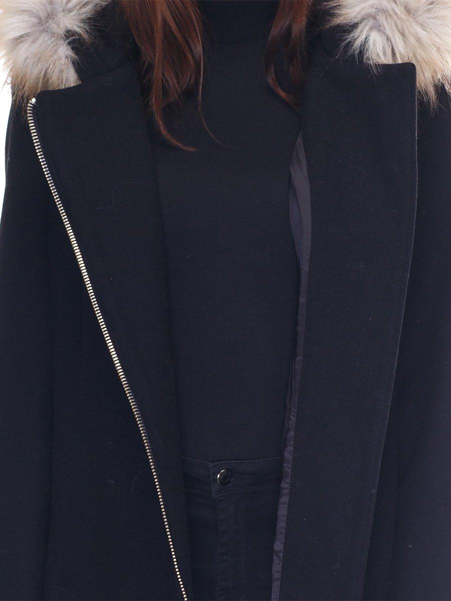 Пальто черное   3291914   фото 3