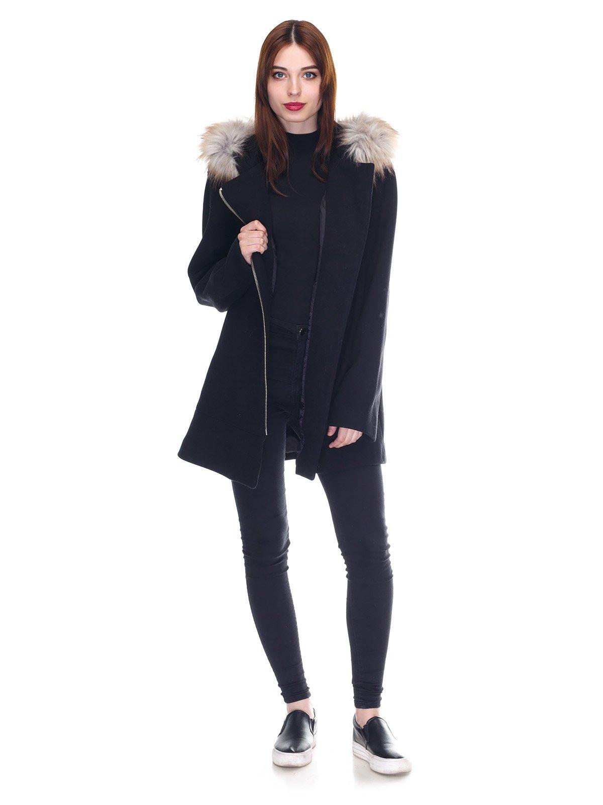 Пальто черное   3291914   фото 4
