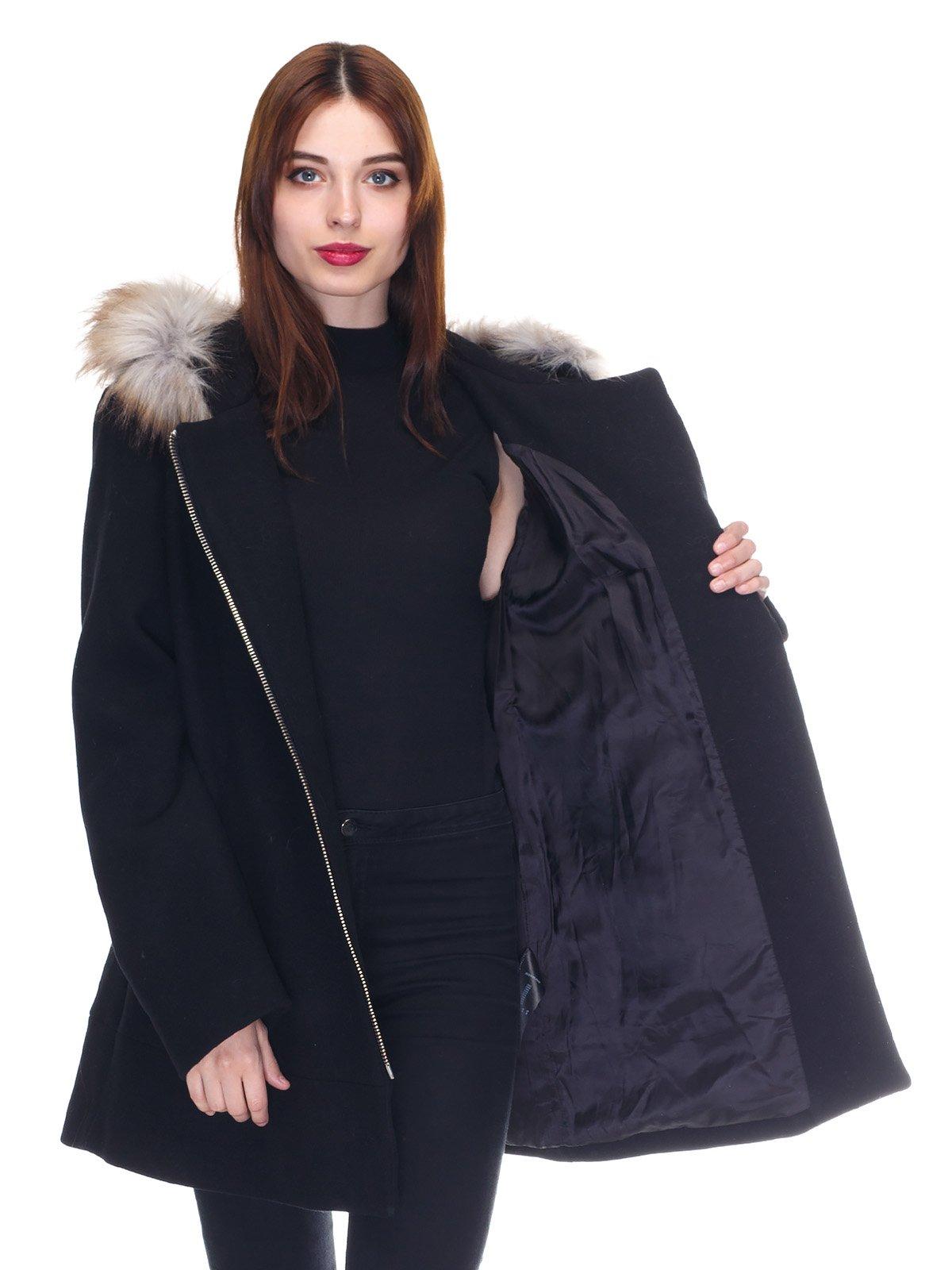 Пальто черное   3291914   фото 5