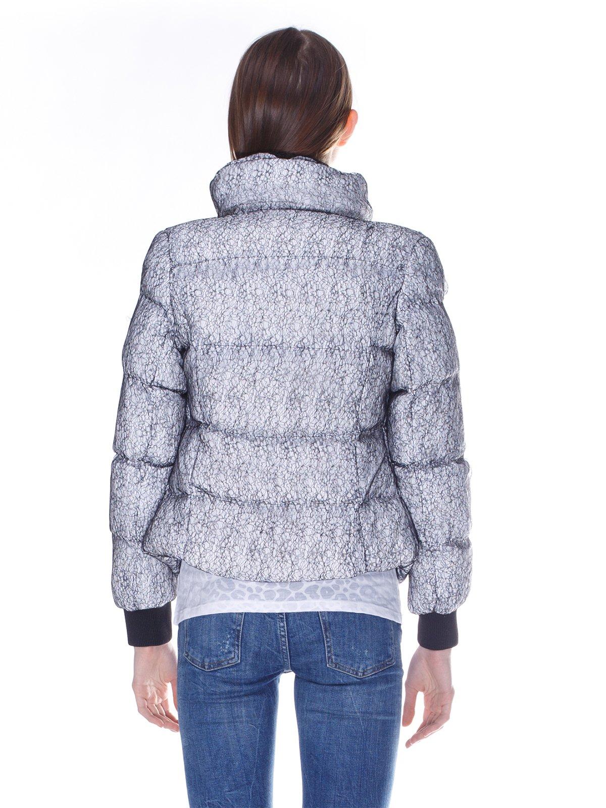 Куртка серо-белая   848911   фото 2