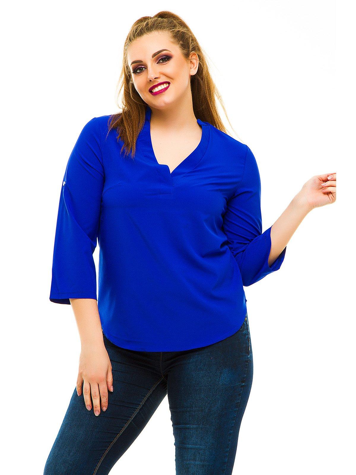 Блуза кольору електрик | 3315400