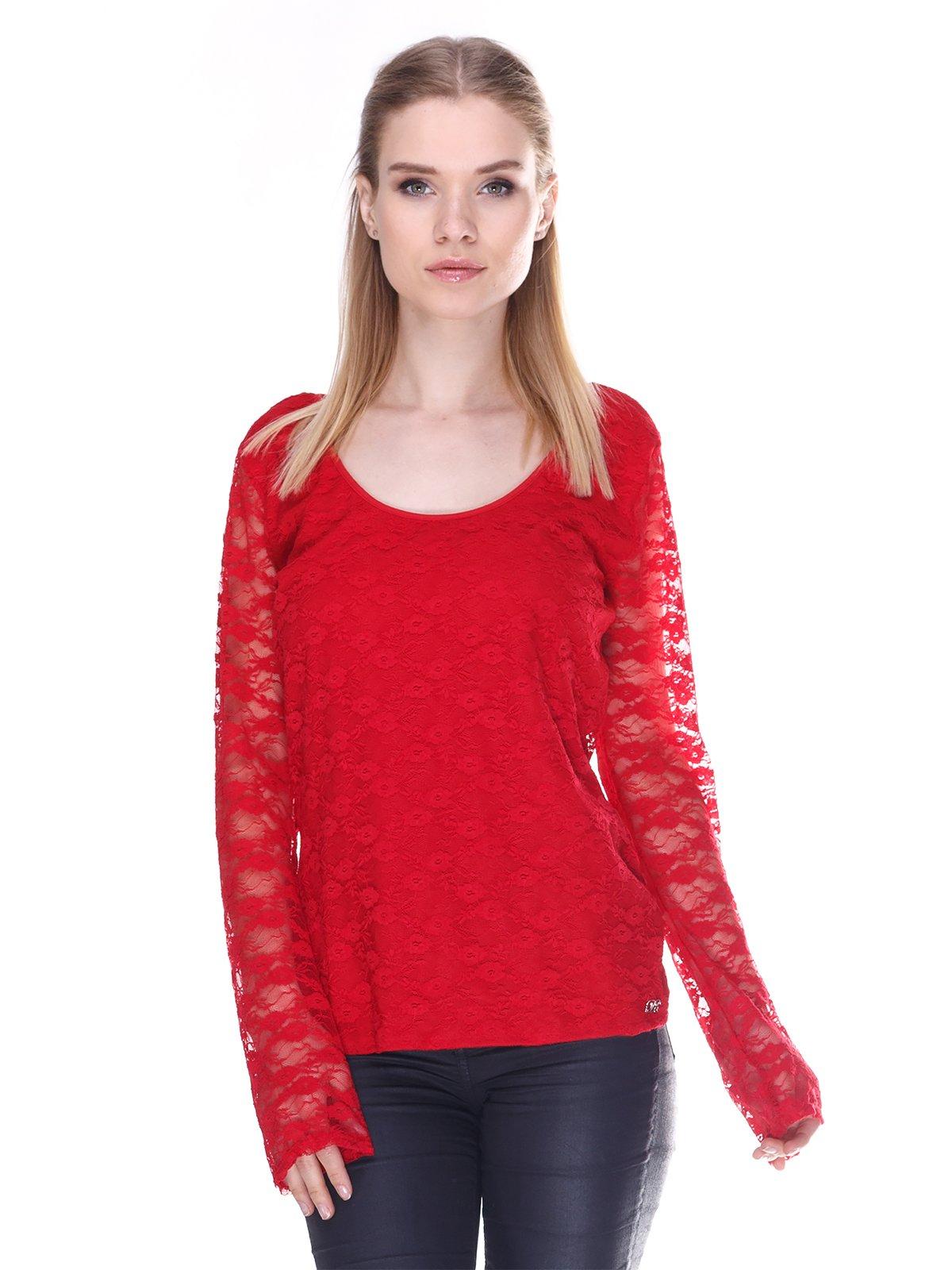 Джемпер червоний | 3180215