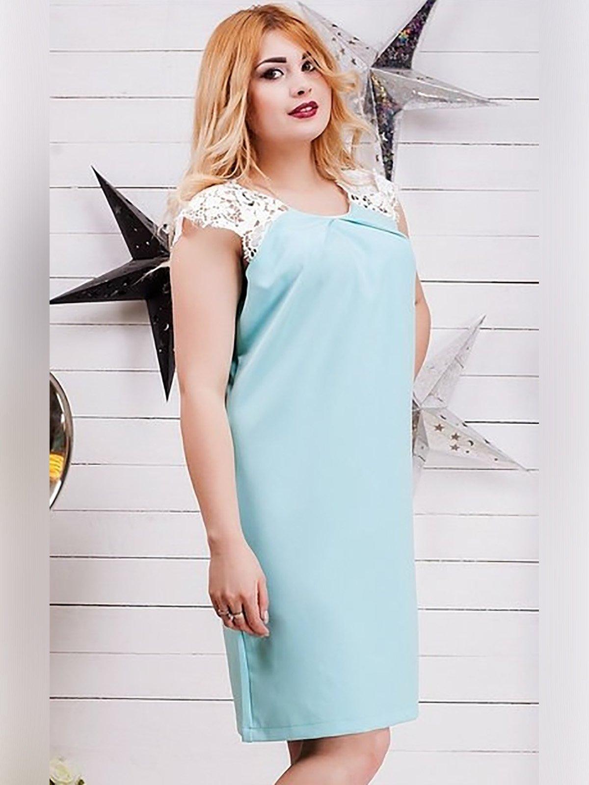 Сукня м'ятного кольору   3319553