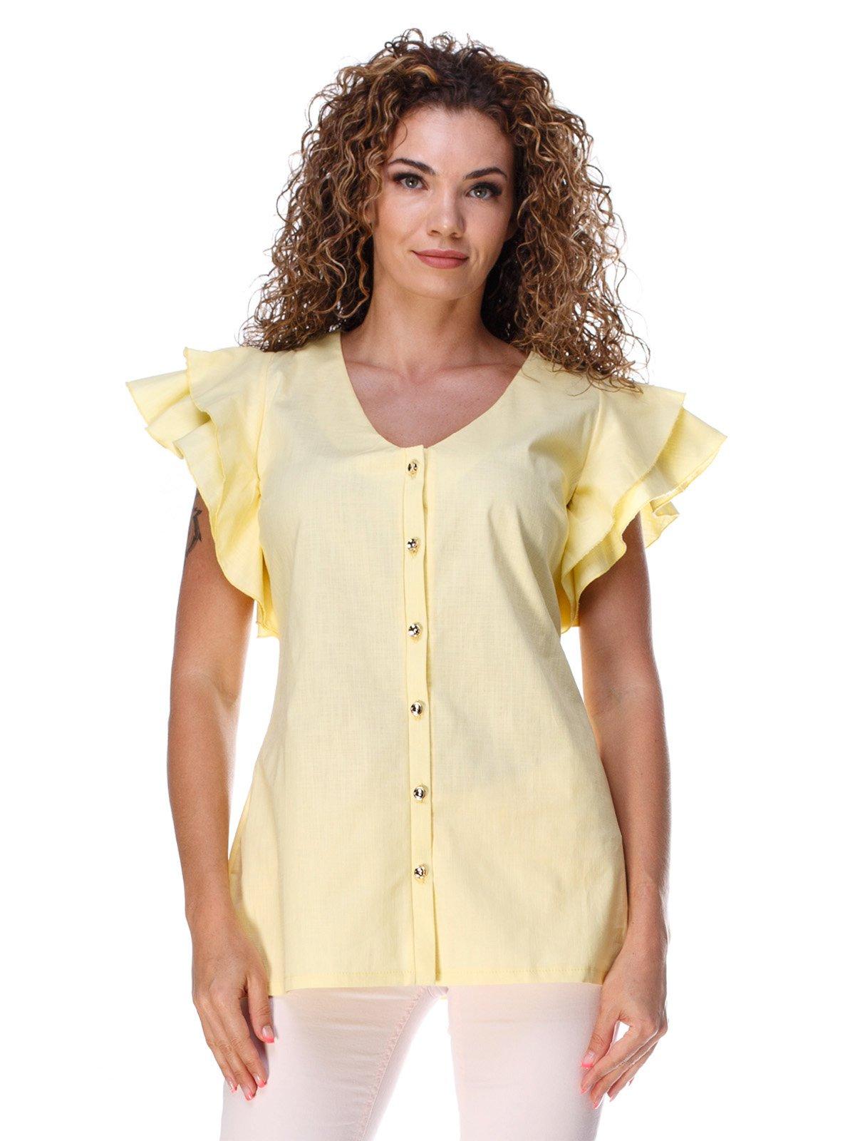 Блуза желтая | 3315338