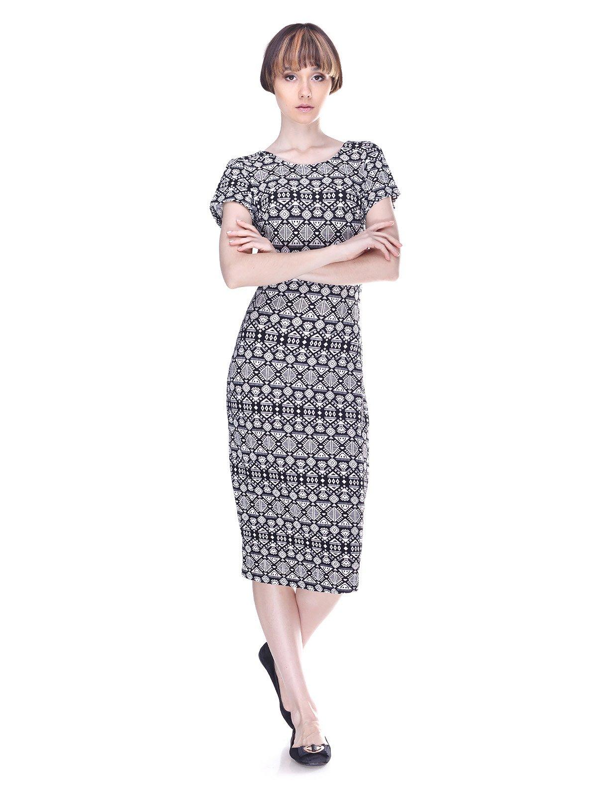 Сукня в принт | 3019412