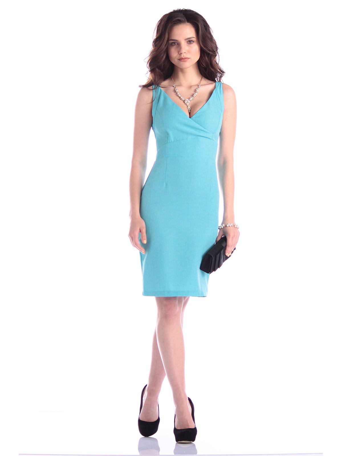 Сукня-сарафан ментолового кольору | 3323488