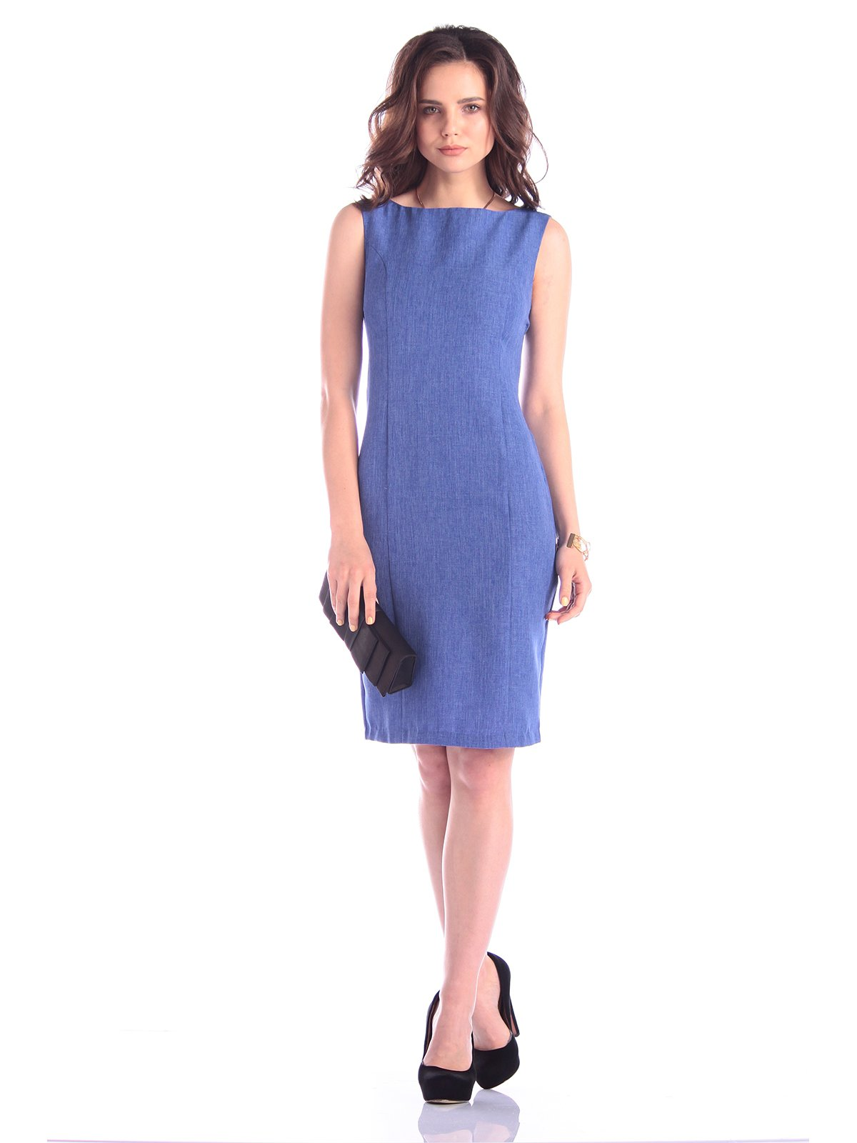 Сукня-сарафан кольору електрик | 3323507