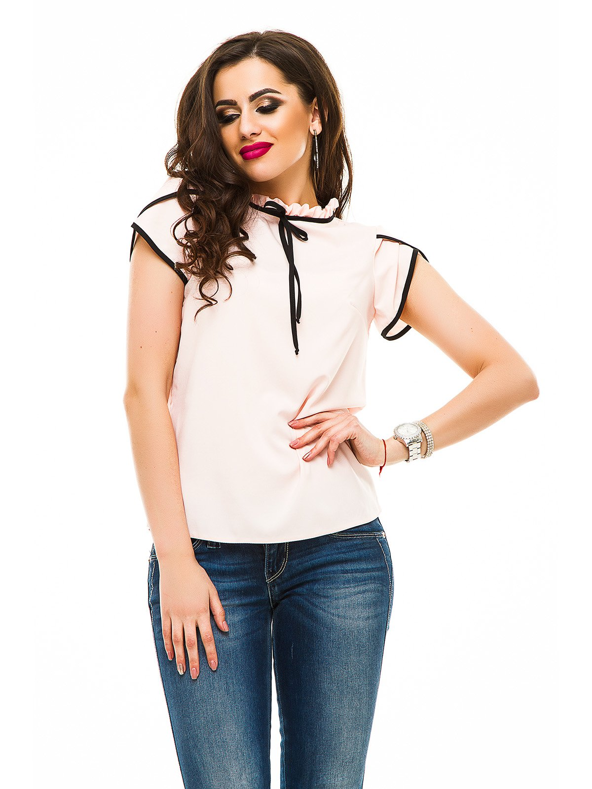 Блуза світло-рожева   3323631