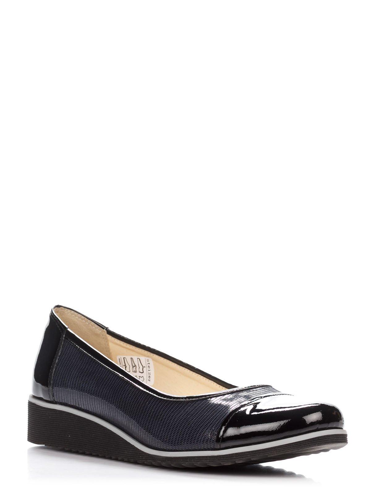 Туфли черно-синие | 3116328