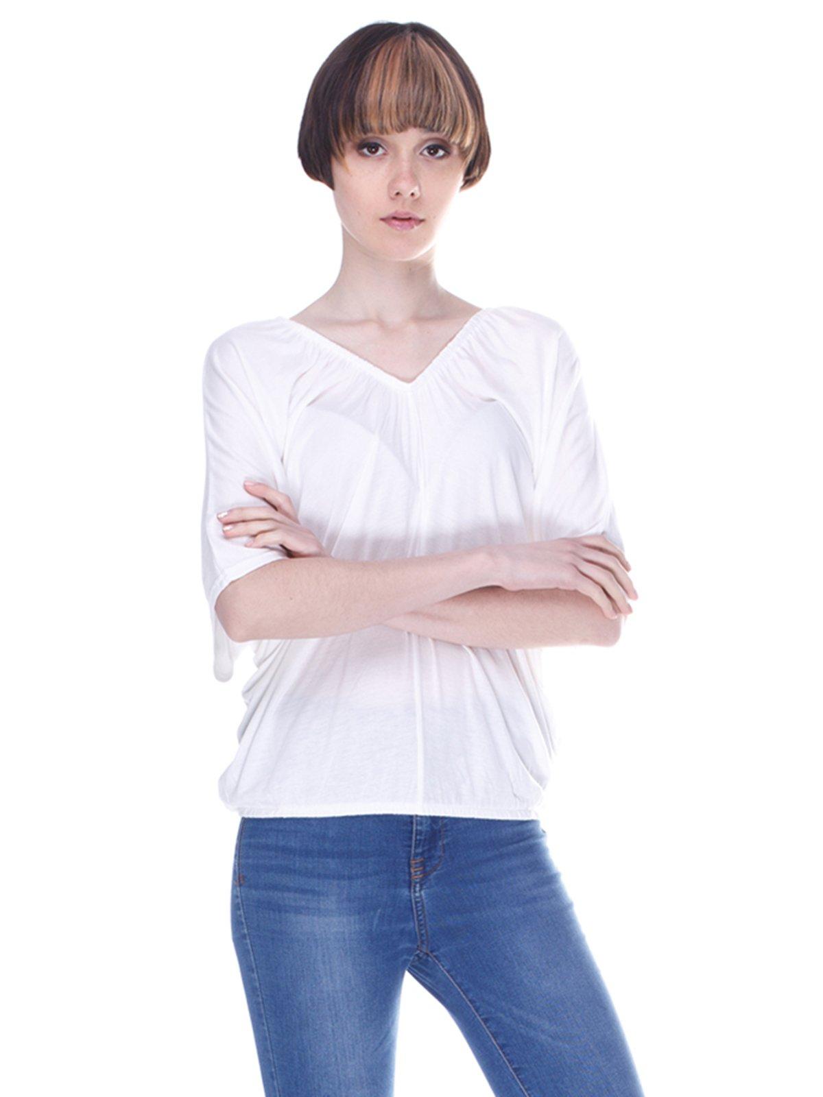 Блуза цвета экрю | 3049337