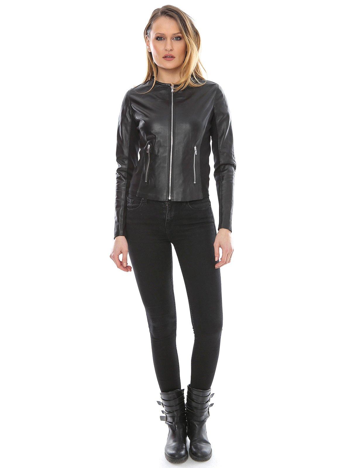 Куртка черная | 2645773 | фото 4
