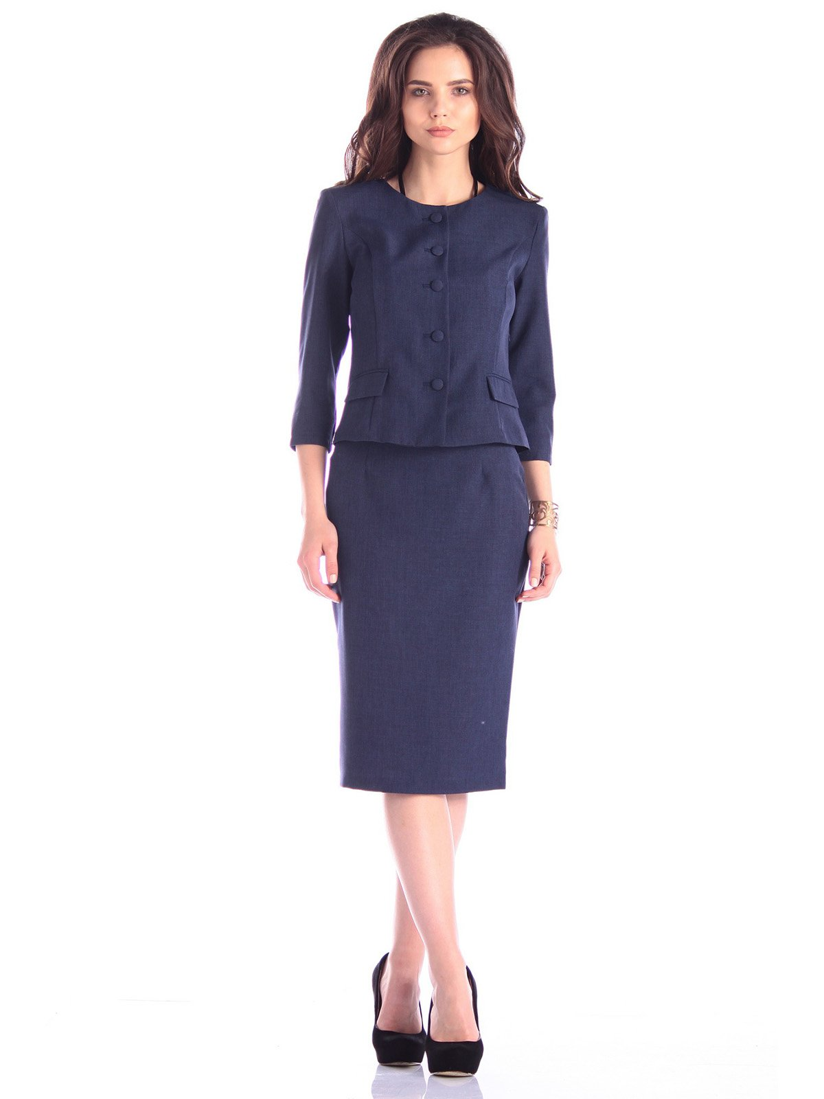 Комплект: жакет и юбка | 3337399