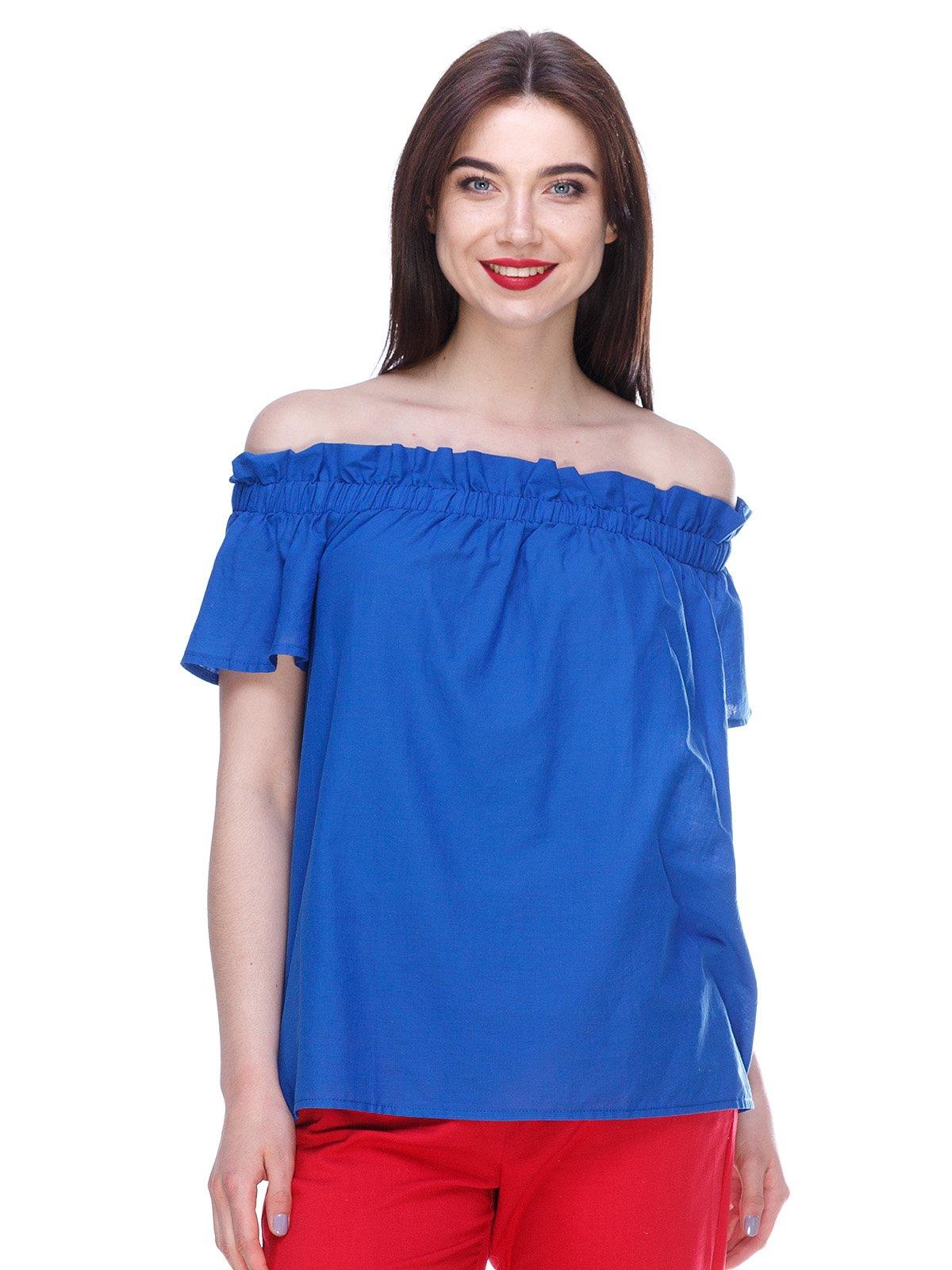 Блуза синяя | 3328780