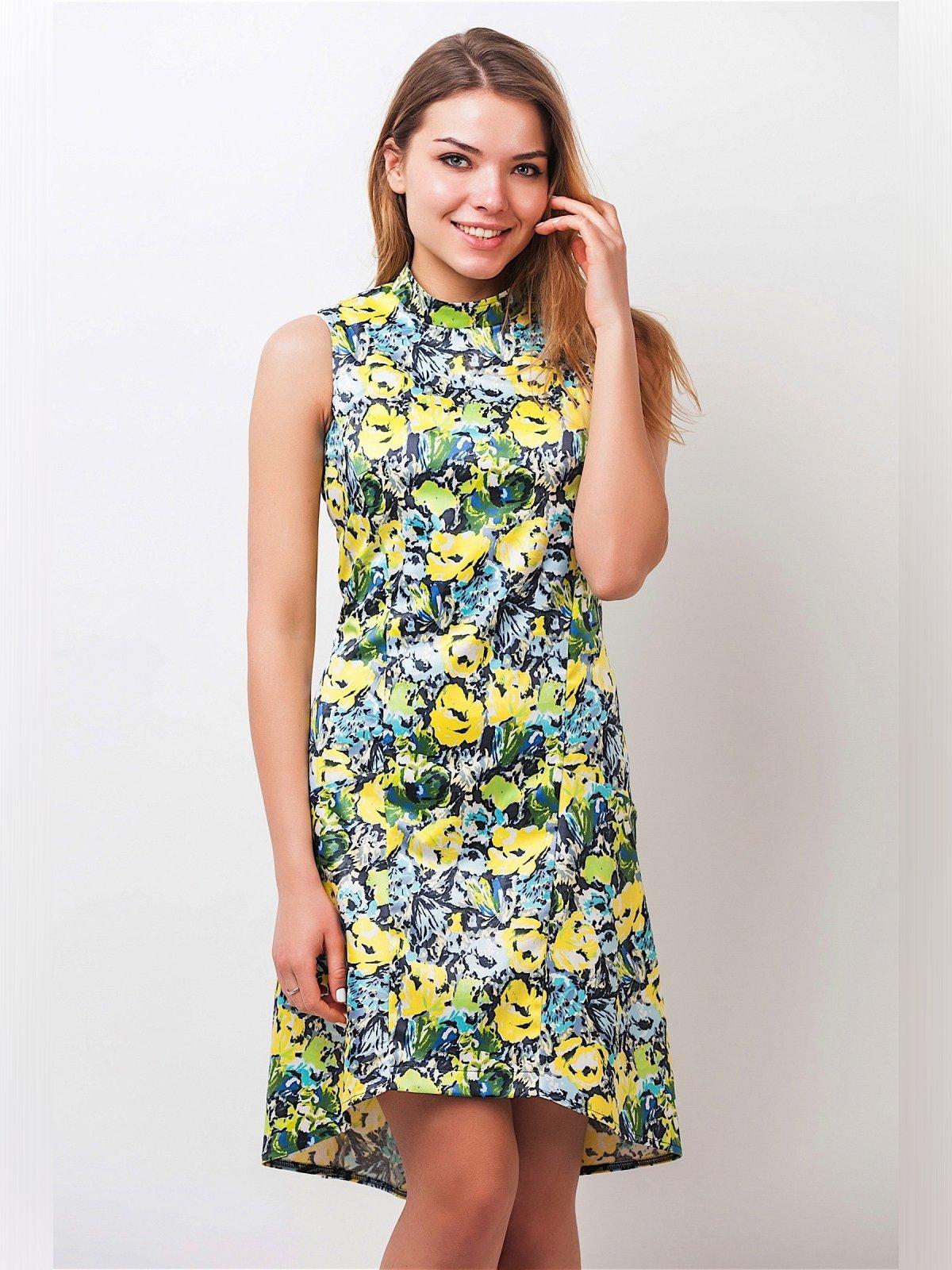 Платье в цветочный принт | 3190194