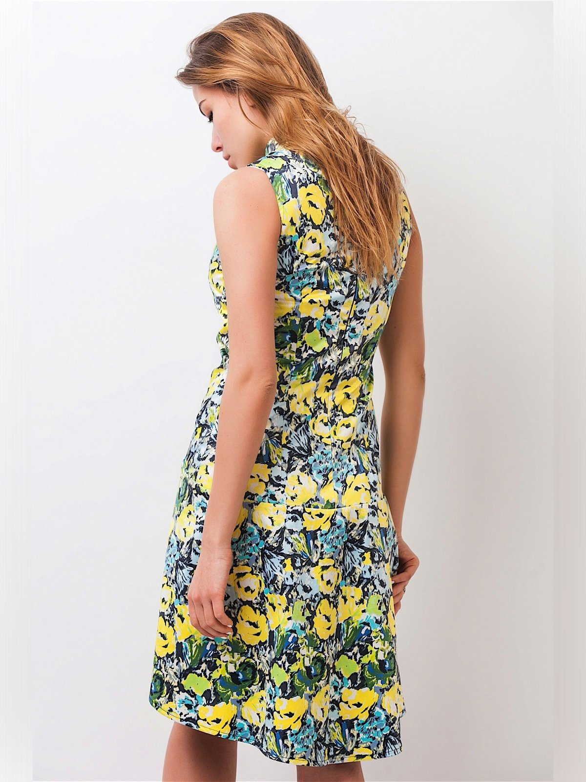 Платье в цветочный принт | 3190194 | фото 3