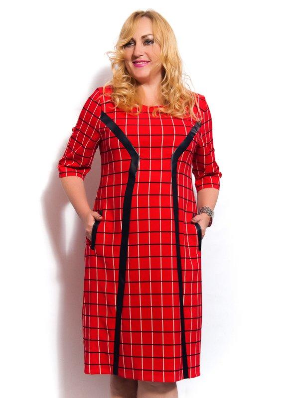 Платье красное   3312452