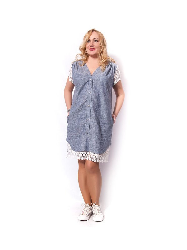 Платье сиреневое   3243060