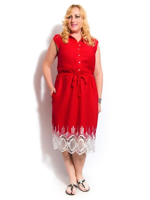Платье красное | 3312451