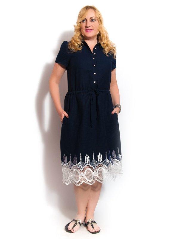 Платье синее | 3312468