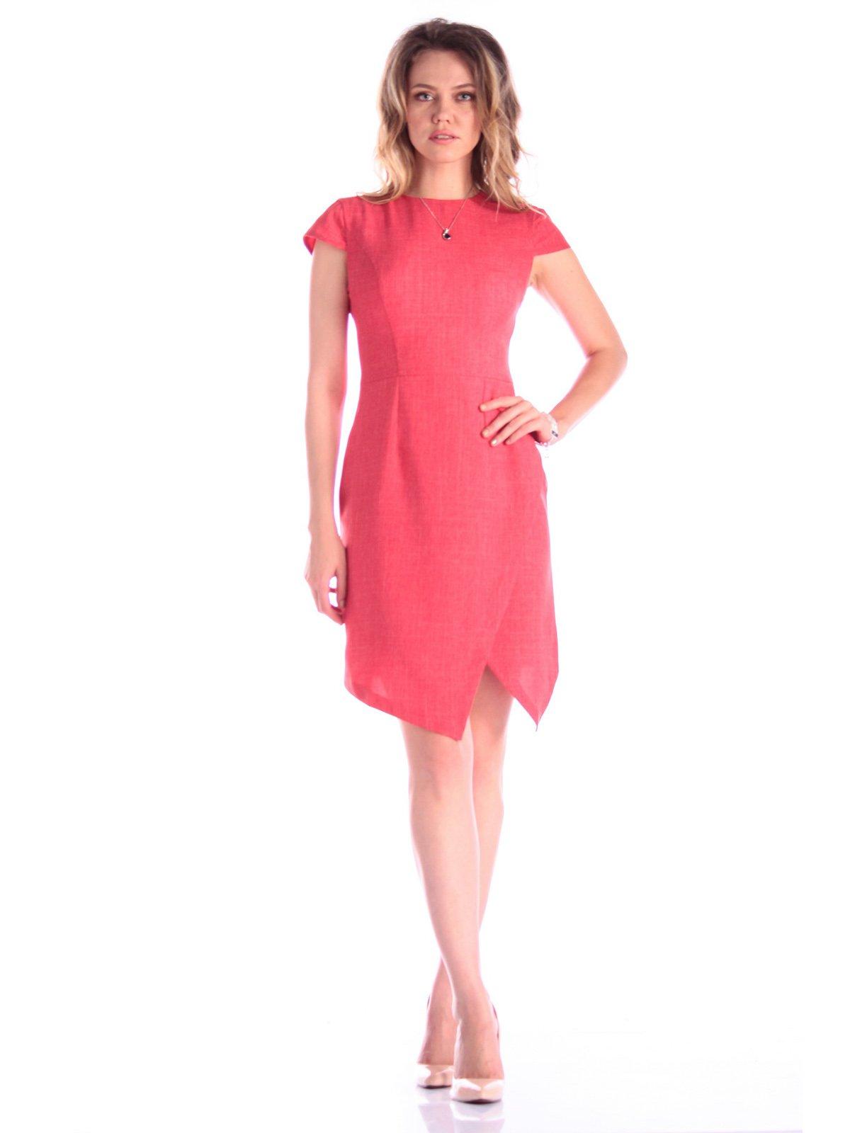 Платье цвета красный коралл   3347713