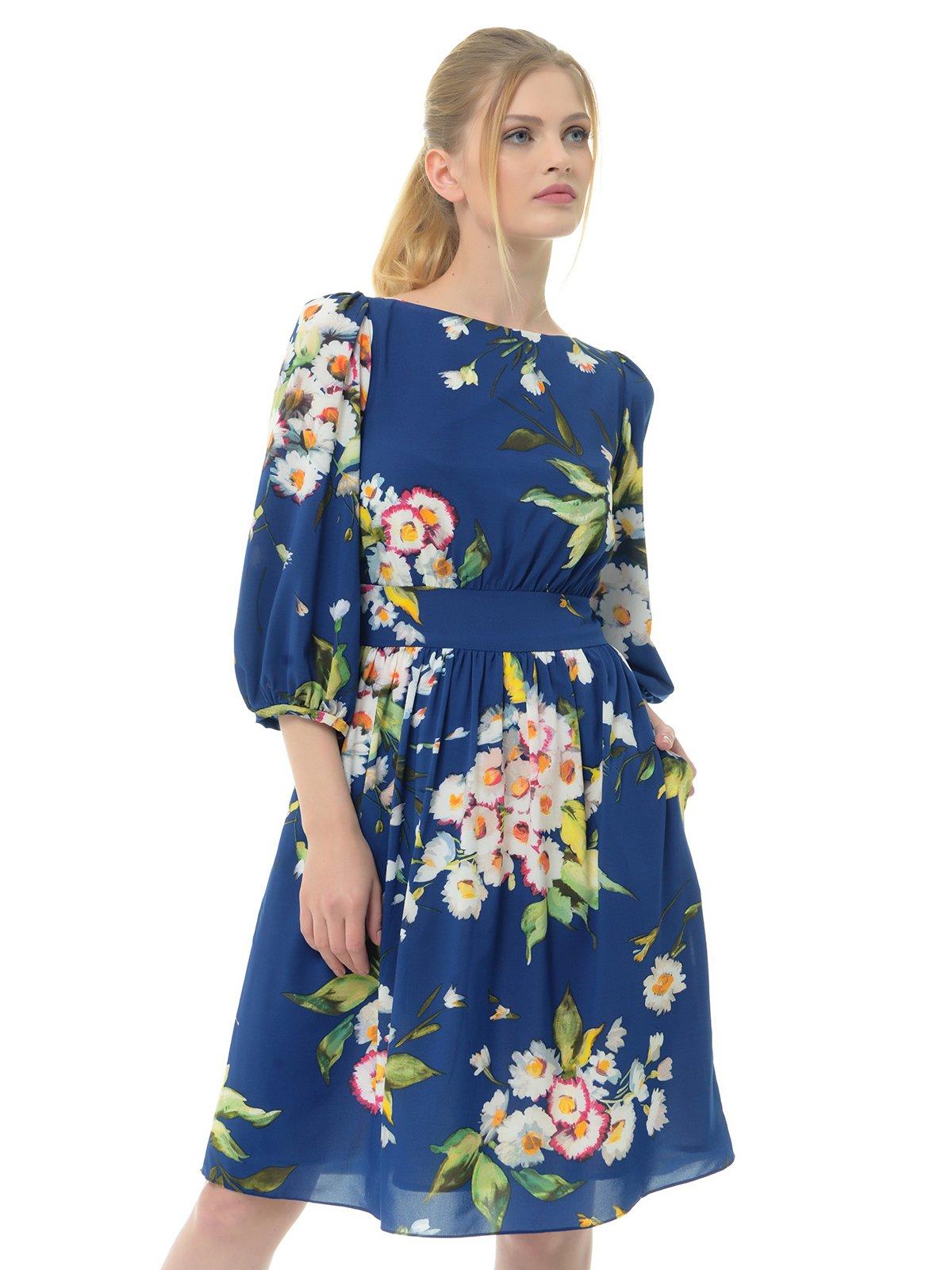 Платье темно-синее | 3352839