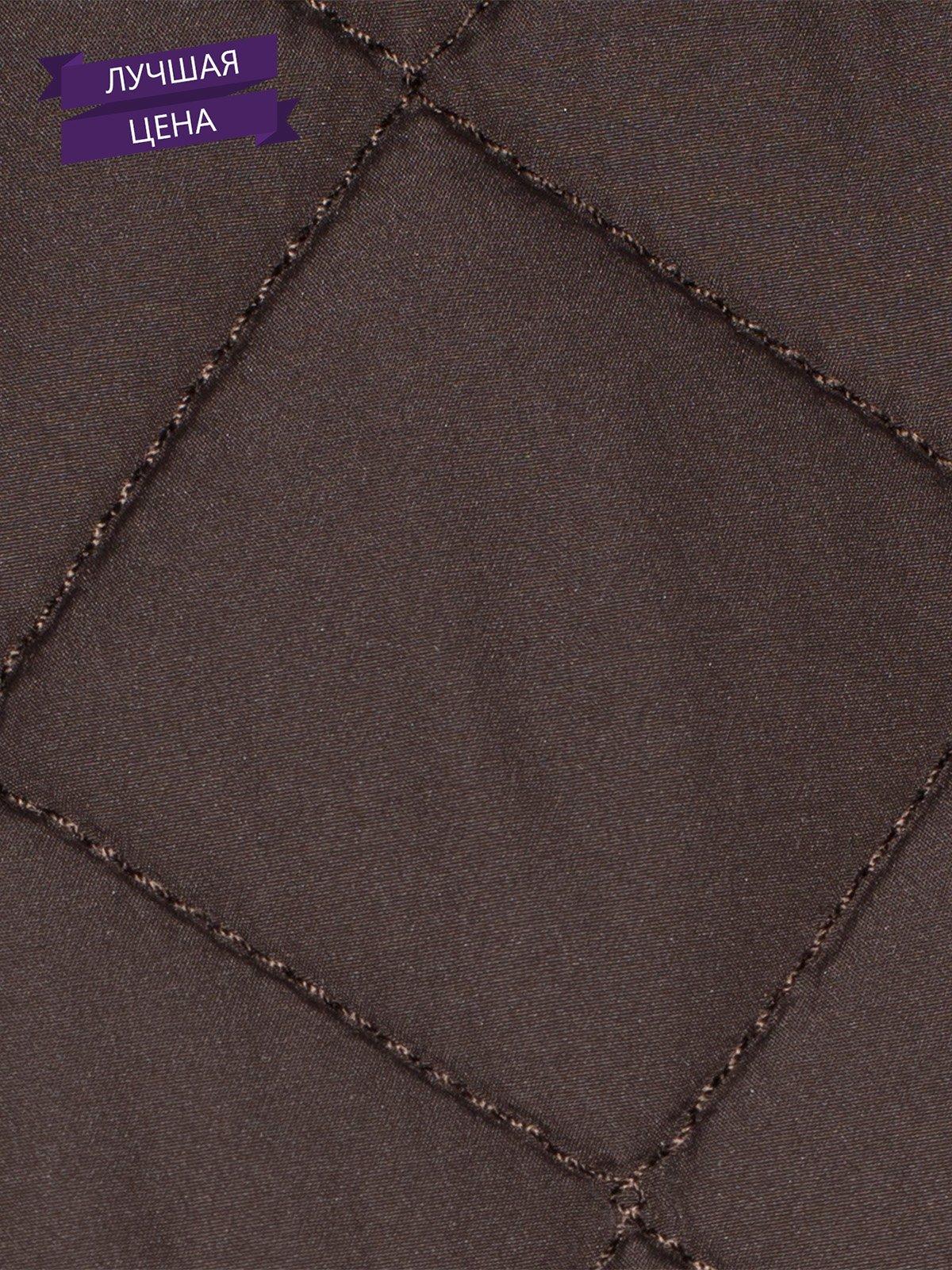 Жилет коричневый | 1898944 | фото 5