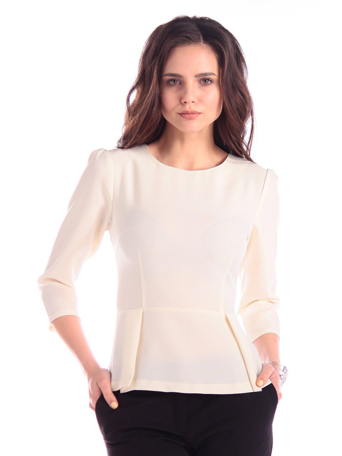 Блуза молочного кольору | 3348034