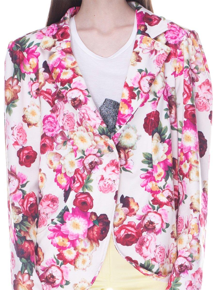 Жакет в цветочный принт | 3369279 | фото 3