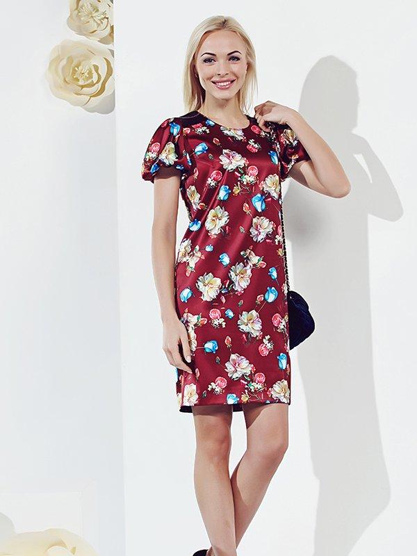 Платье в цветочный принт | 3167918