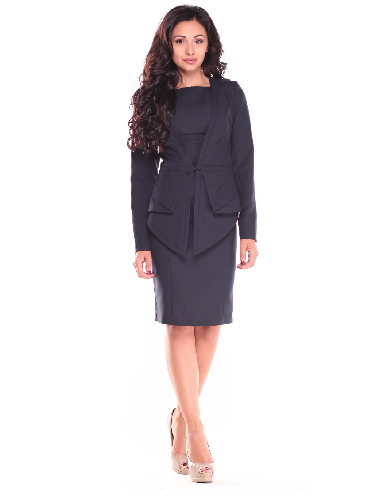 Комплект: платье и жакет | 2658098