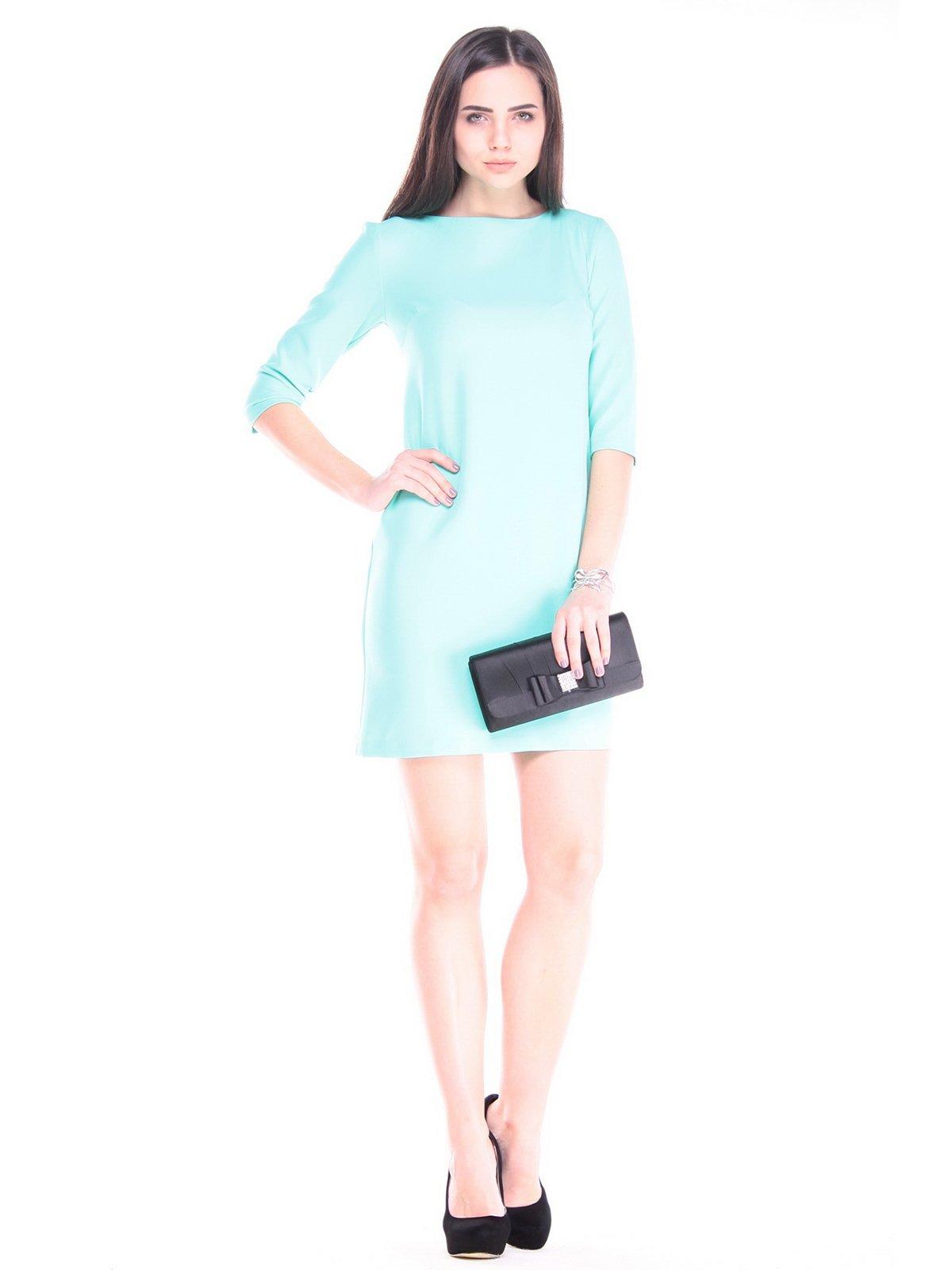 Платье ментолового цвета | 3040914
