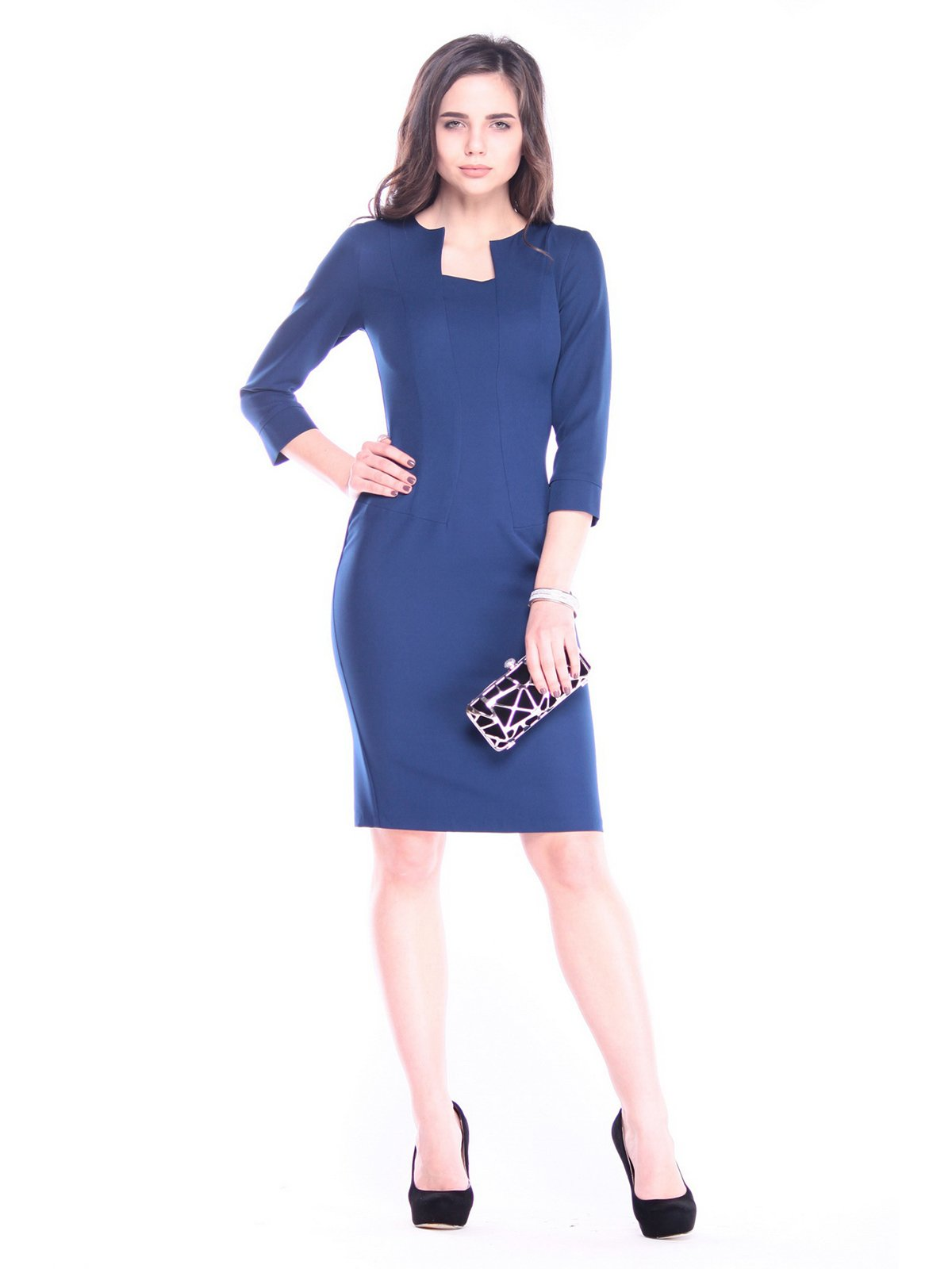 Платье синее | 3086090