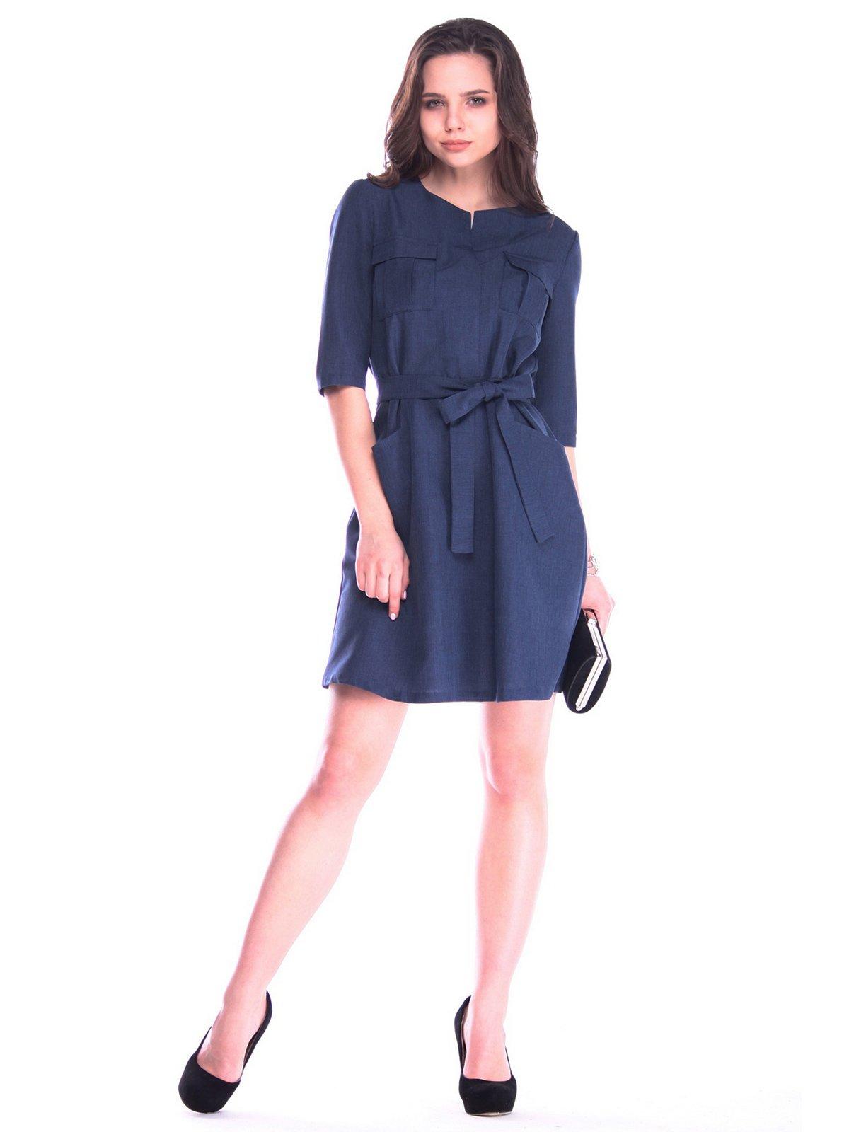 Сукня темно-синя | 3172708