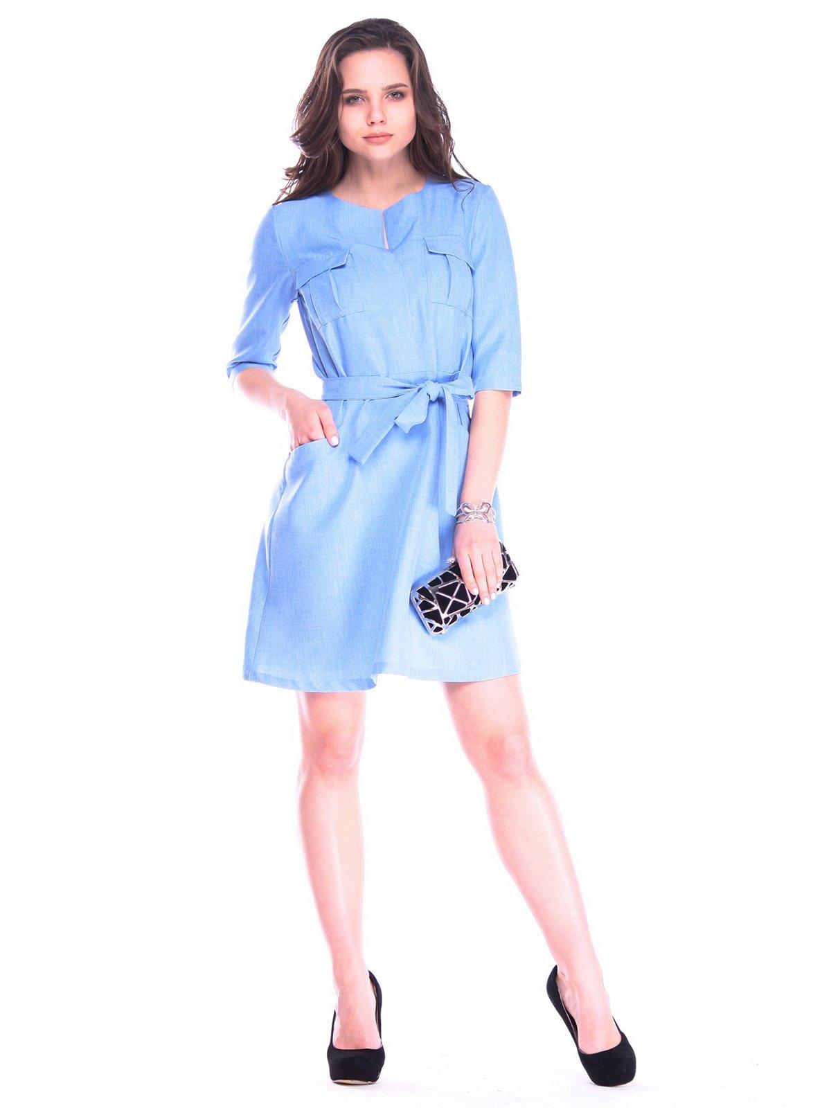 Платье голубое | 3172710