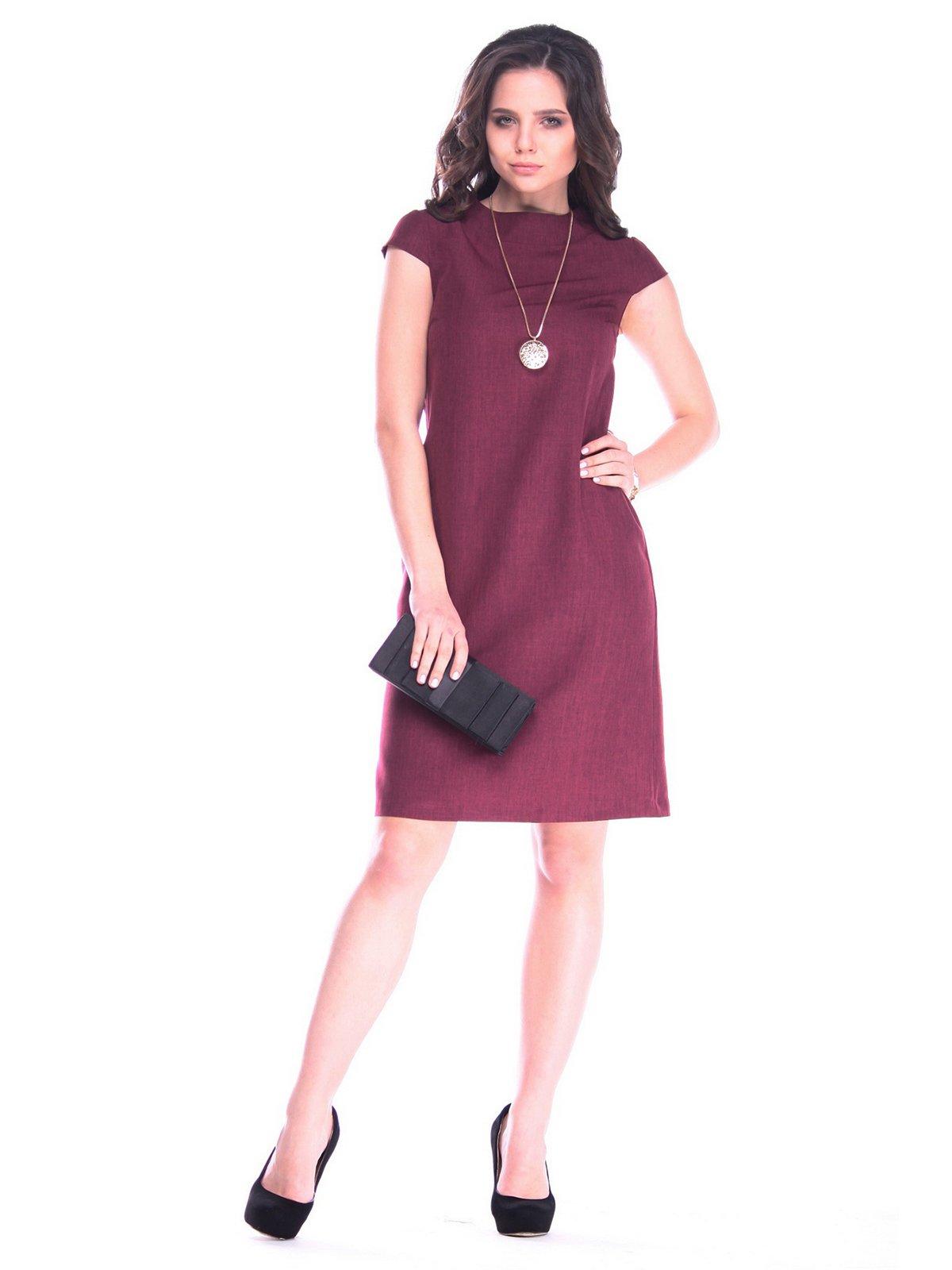 Платье сливового цвета | 3172718