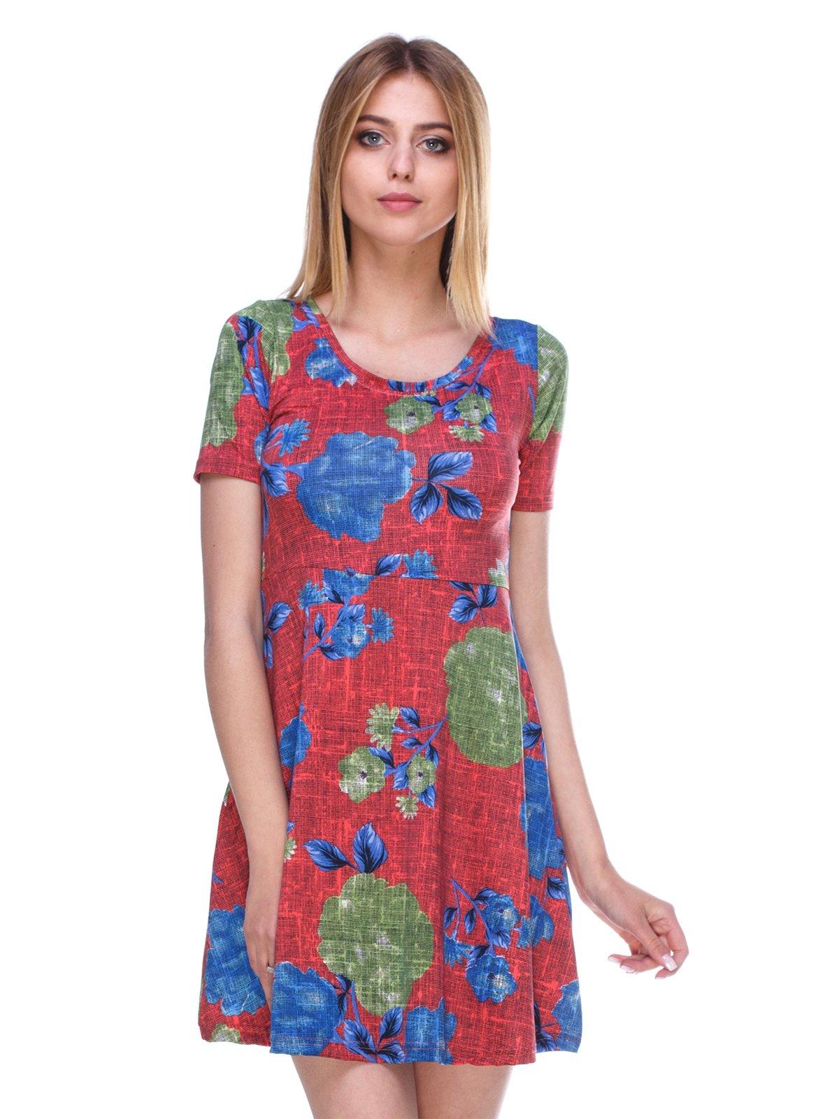 Сукня в квітковий принт   3309009