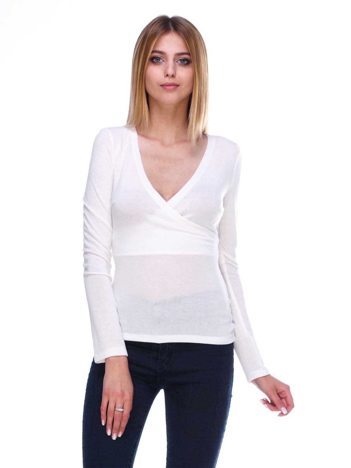Пуловер белый | 2981690