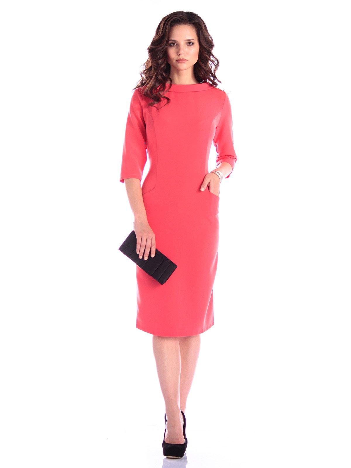 Платье коралловое | 3395156