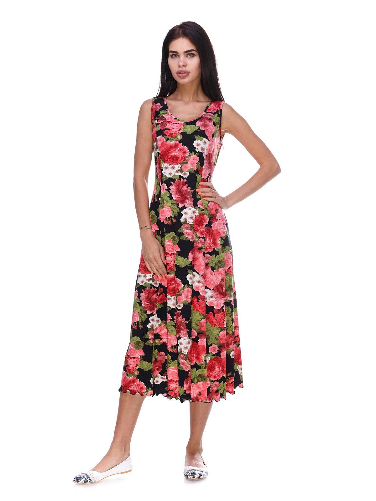 Сукня в квітковий принт | 3387726