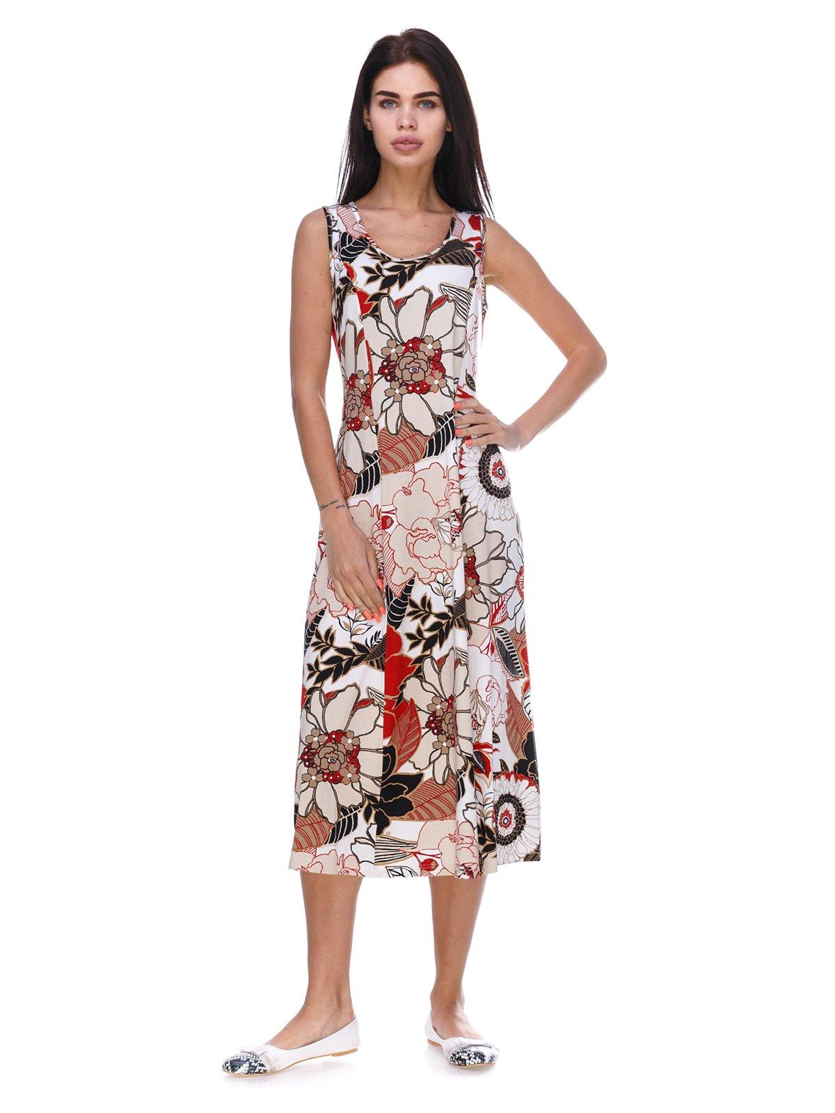 Платье в цветочный принт | 3387660