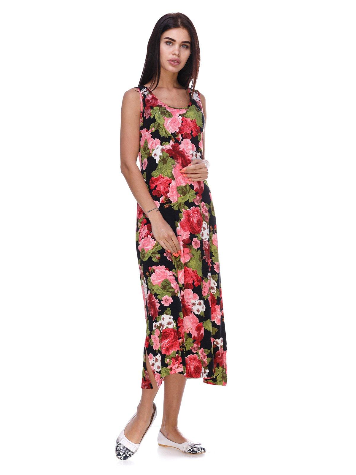 Платье в цветочный принт | 3387725