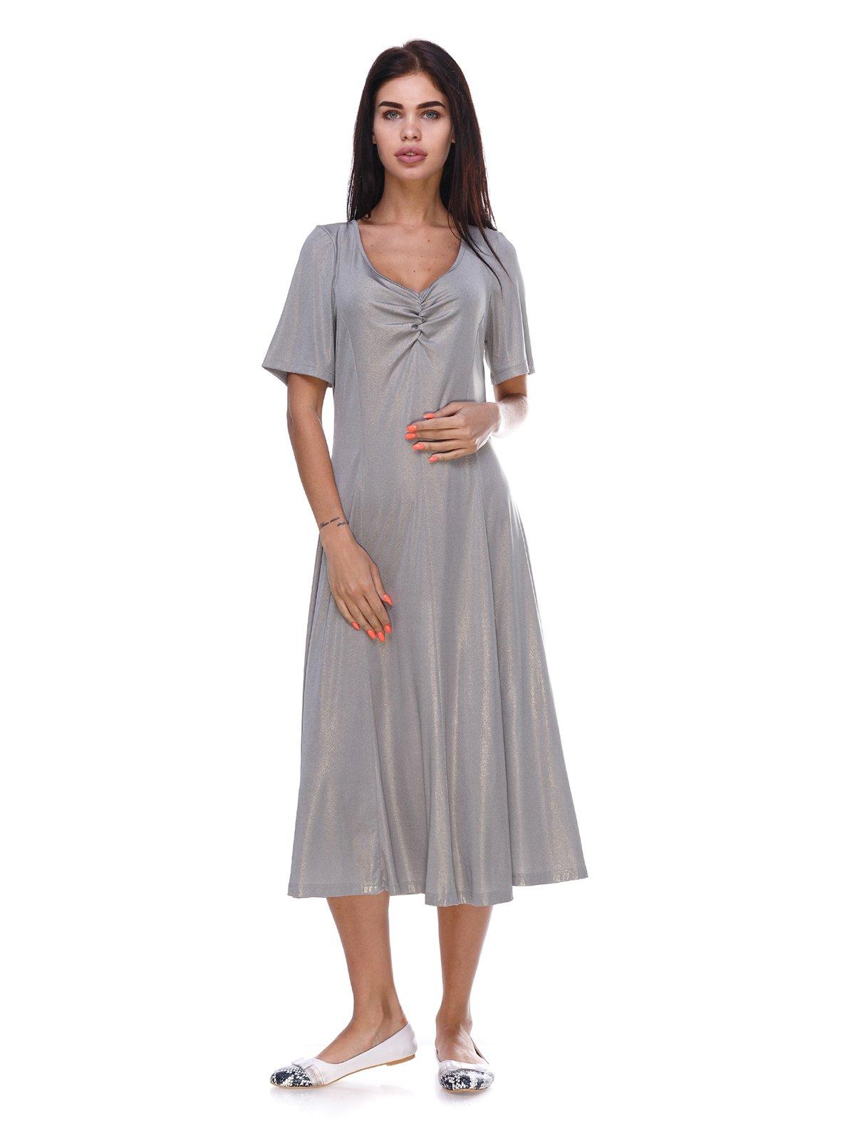 Сукня срібляста | 3387743