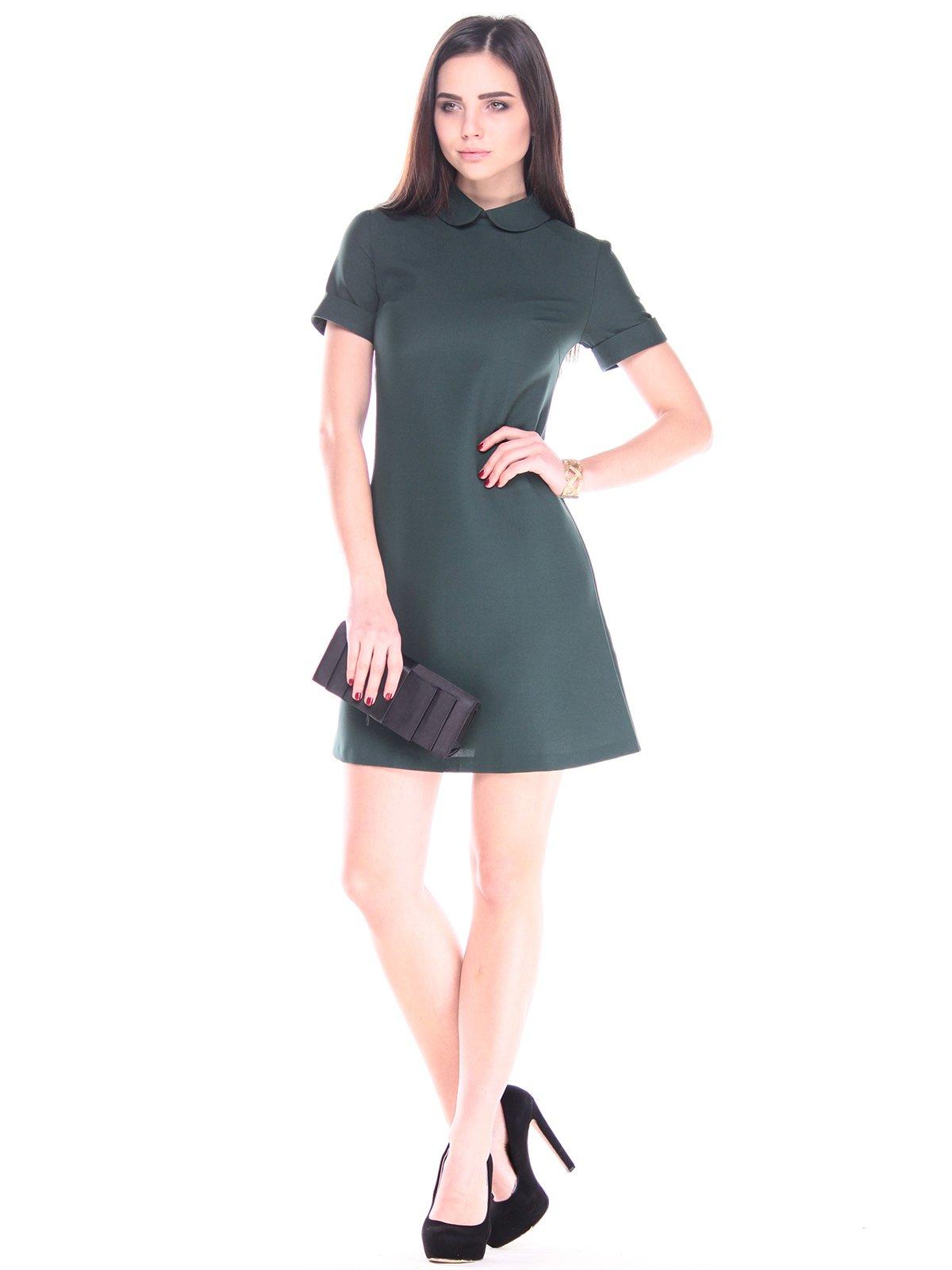 Платье темно-изумрудное | 2900681