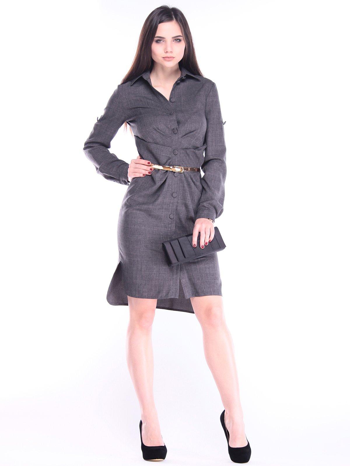 Сукня графітового кольору | 2962418