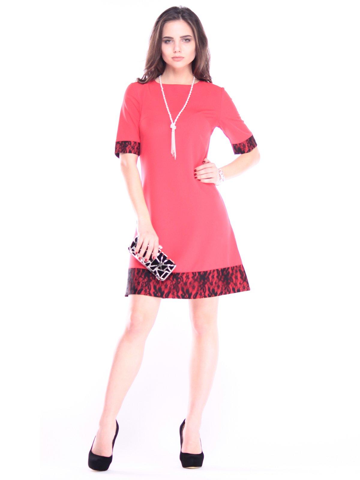 Платье красное | 2962525