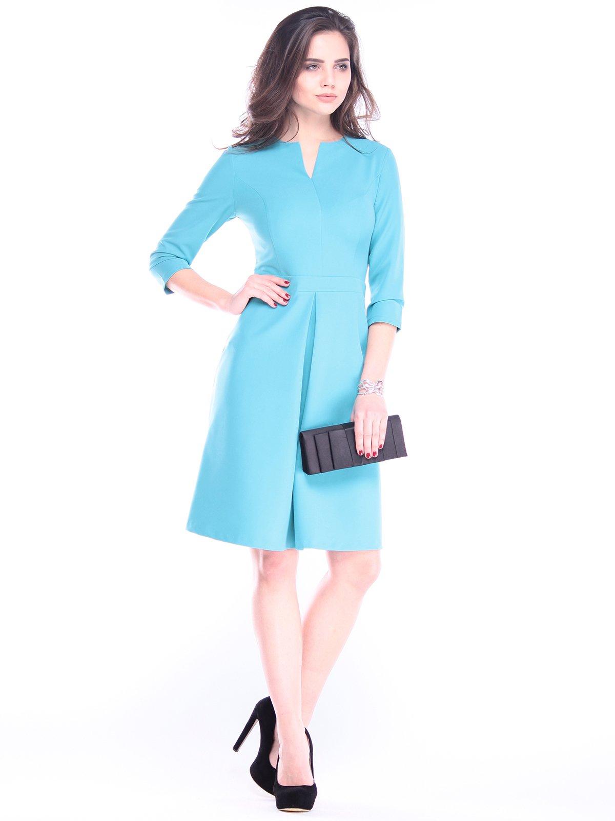 Платье цвета зеленой бирюзы | 2962683